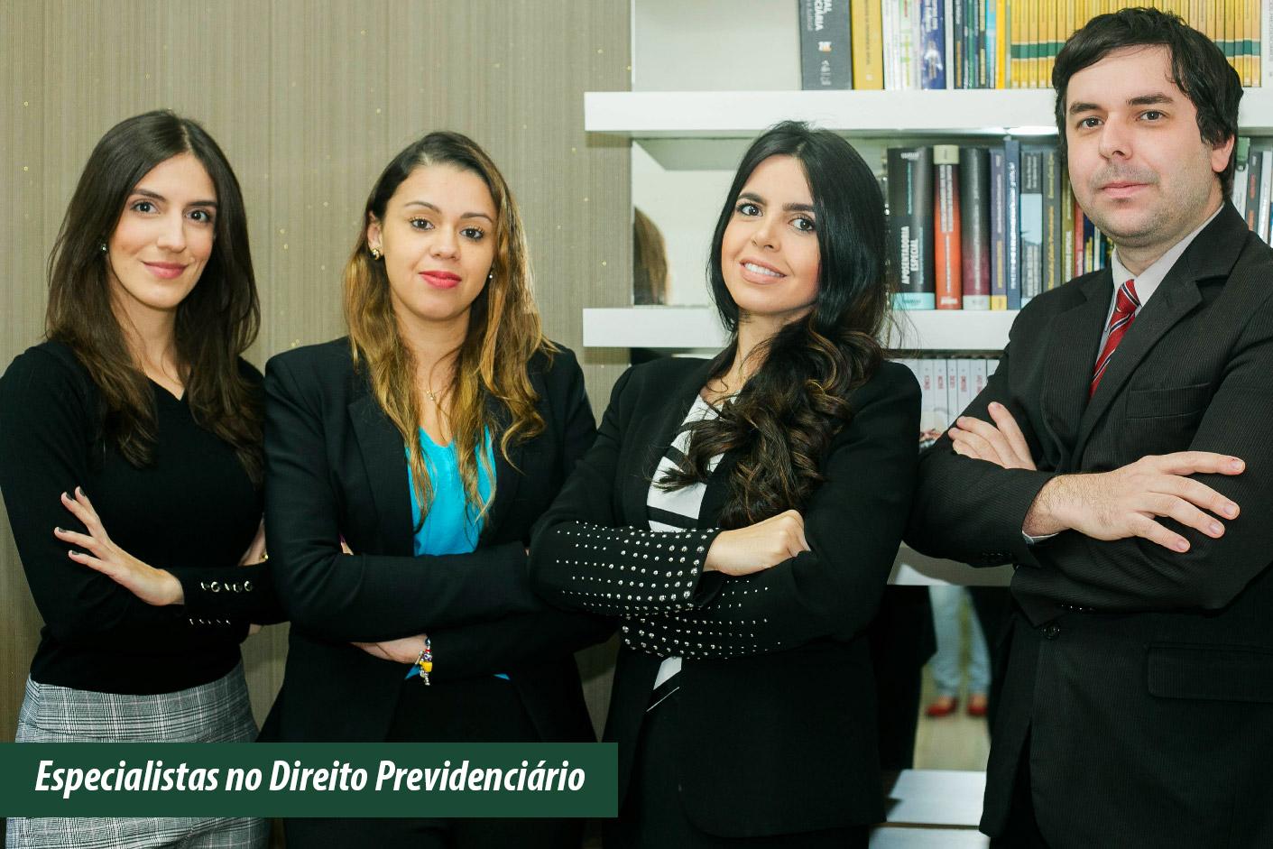 Especialistas no Direito Previdenciário.