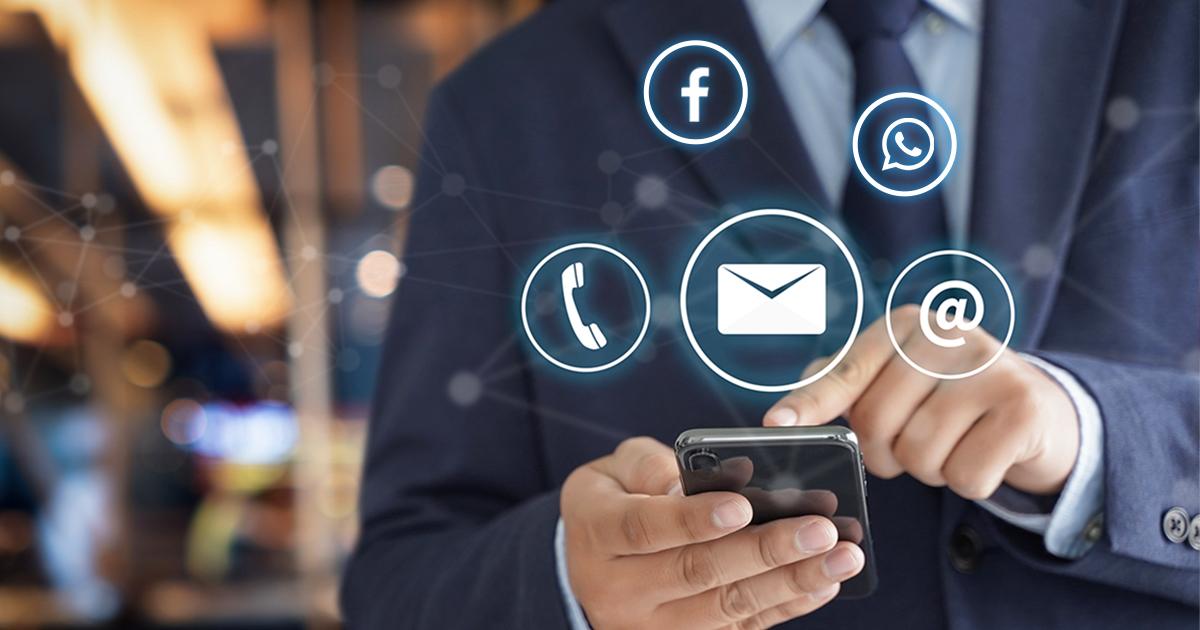 Uso excessivo do celular no ambiente de trabalho