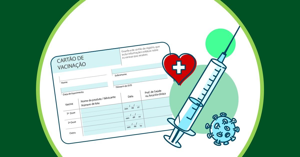 A empresa pode exigir o cartão de vacina atualizado