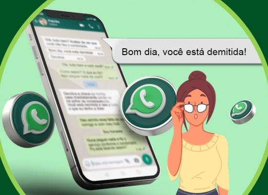 Empregada doméstica demitida por WhatsApp receberá R$5 mil indenização
